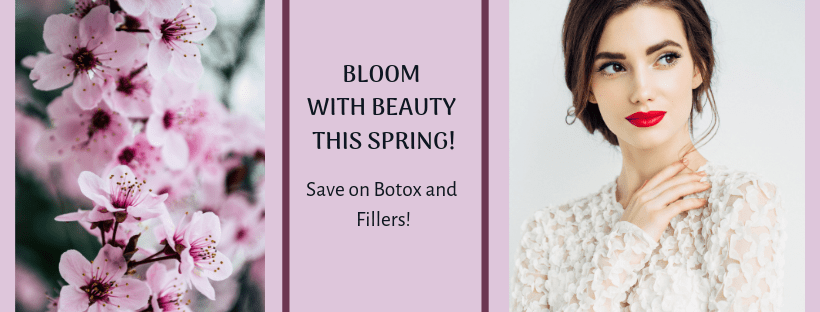 Aesthetic Savings this Spring: Save on Botox and Fillers