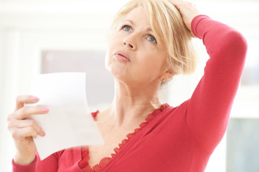 Women hormones testing hot flashes